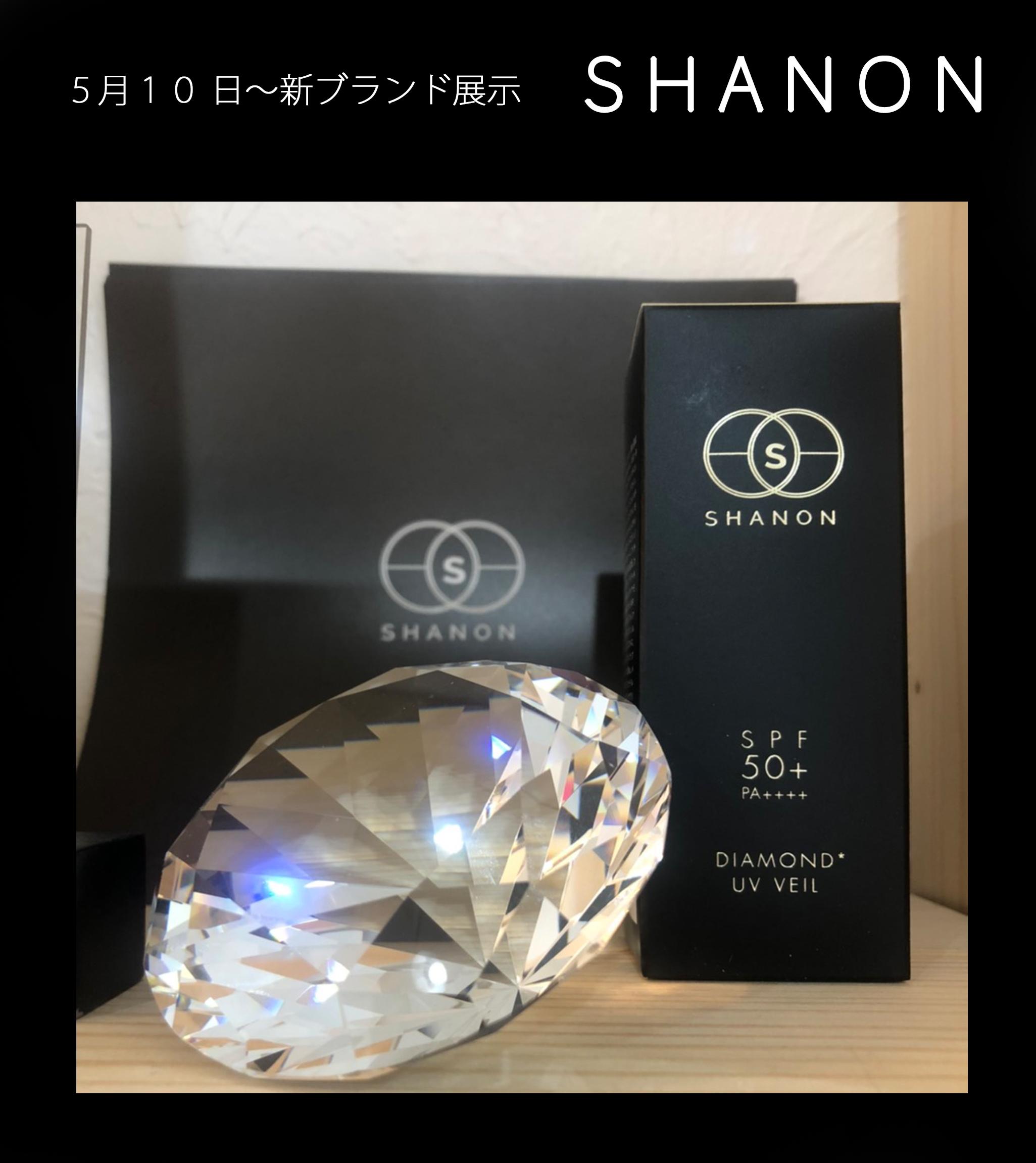 """ラグジュアリー感あふれる""""SHANON ダイヤ UV ベール"""""""
