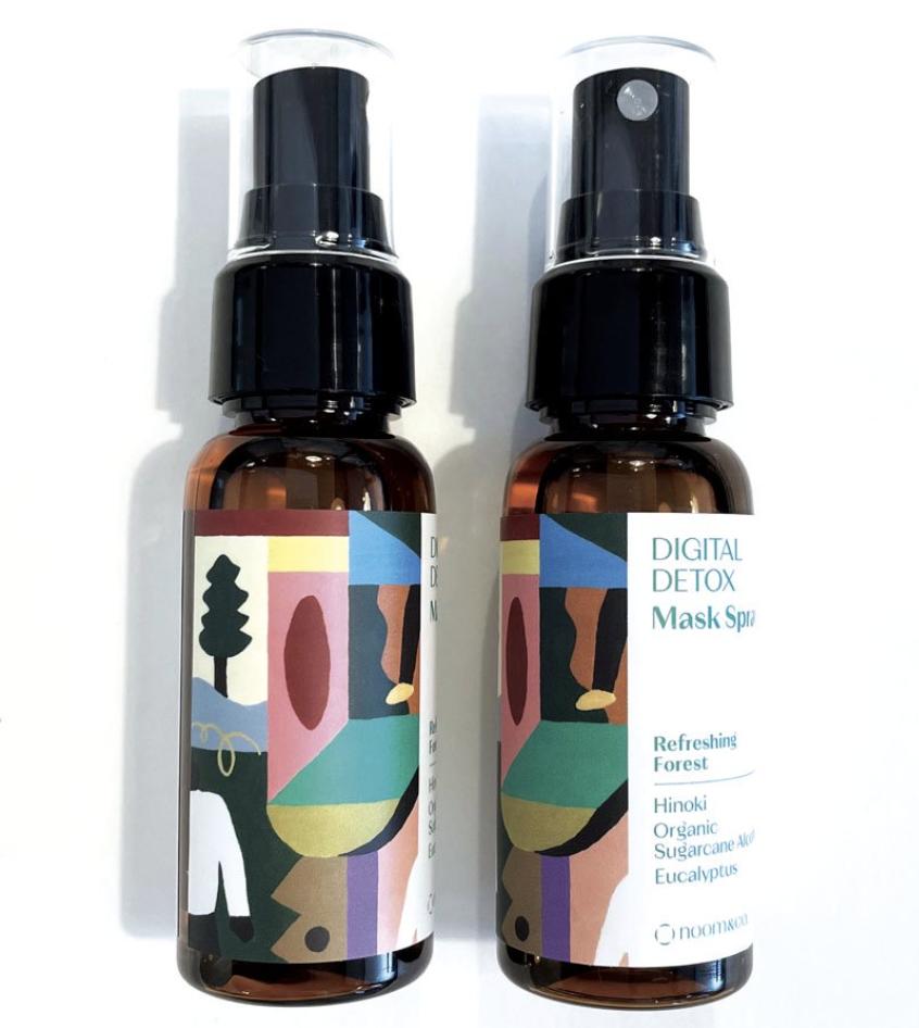 DIGITAL DETOX Refreshing Forest Mask Spray